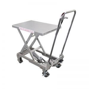 BSA10 Aluminium / handskêr vlekvrye staal lift tafel