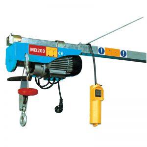 MB200 Mini Elektriese takel, elektriese hefboom