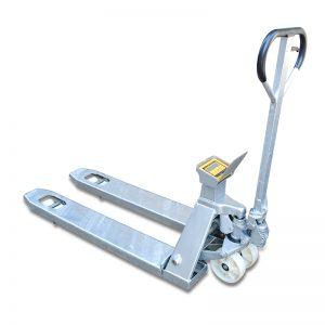 ZFS20S Roesvrye staal mobiele weegkar